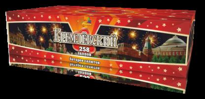 Батарея салютов супер Кремлевский 258 залпов