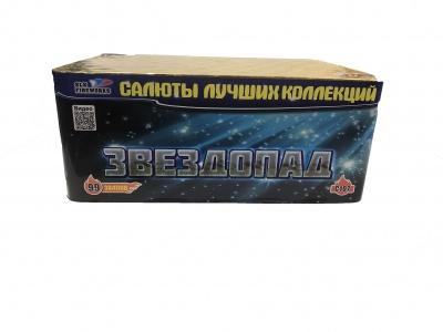 Батарея салютов ЗВЕЗДОПАД 99 залпов